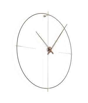 Nomon 'Bilbao' round clock, minimalistic design