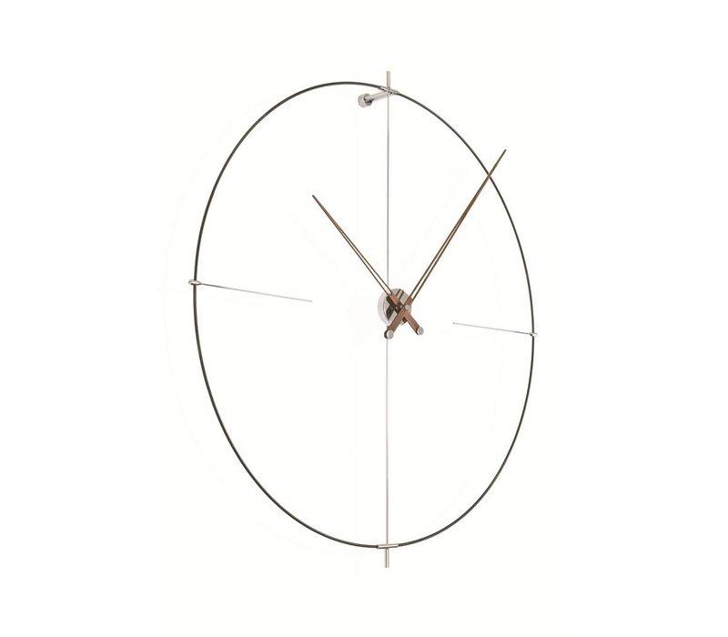 """Runde Uhr """"Bilbao"""" in minimalistischem Design"""