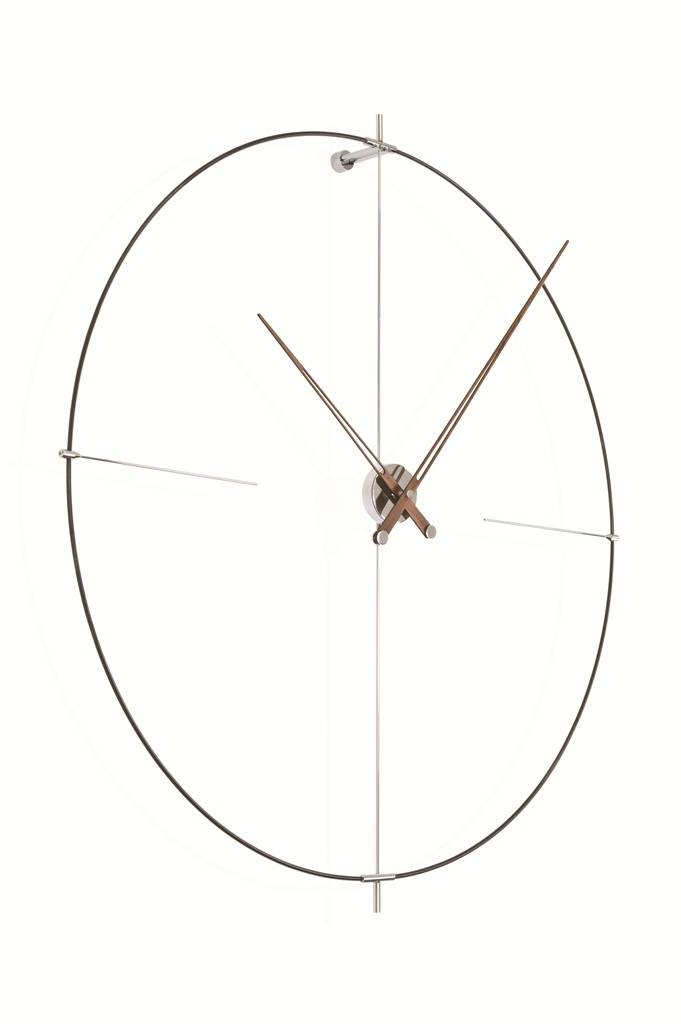 Nomon Bilbao Round Clock Minimalistic Design