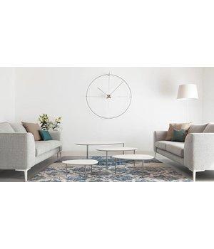 """Nomon Runde Uhr """"Bilbao"""" in minimalistischem Design"""