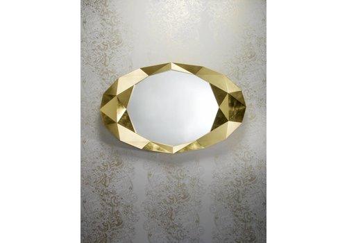Deknudt wandspiegel 'Precious' goud