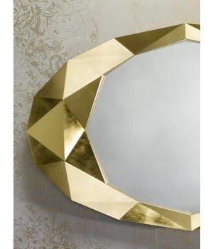 Deknudt wall mirror 'Precious' in gold