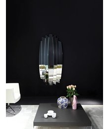 Designer Spiegel order and oval mirrors with or without a frame wilhelmina