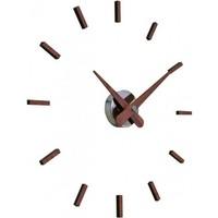 Sunset houten klok heeft een diameter 50 cm, handgemaakt in Spanje
