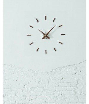 Nomon Sunset wooden wall clock diameter 50 cm by Nomón, handmade in Spain