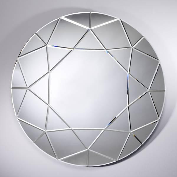 deknudt grote ronde spiegel 39 round diamond 39 diameter 90 cm