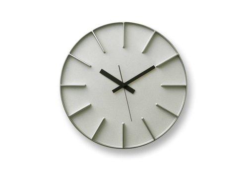 Lemnos moderne ronde klok 'Edge'