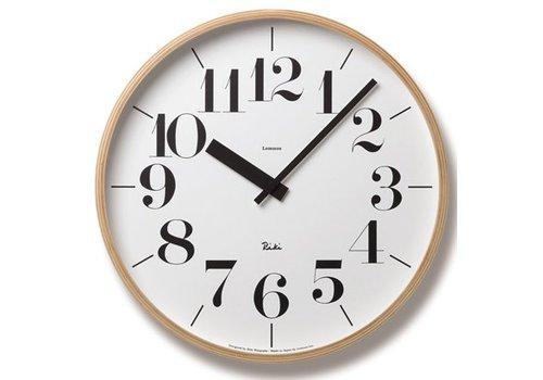 Lemnos wall clock 'Riki'