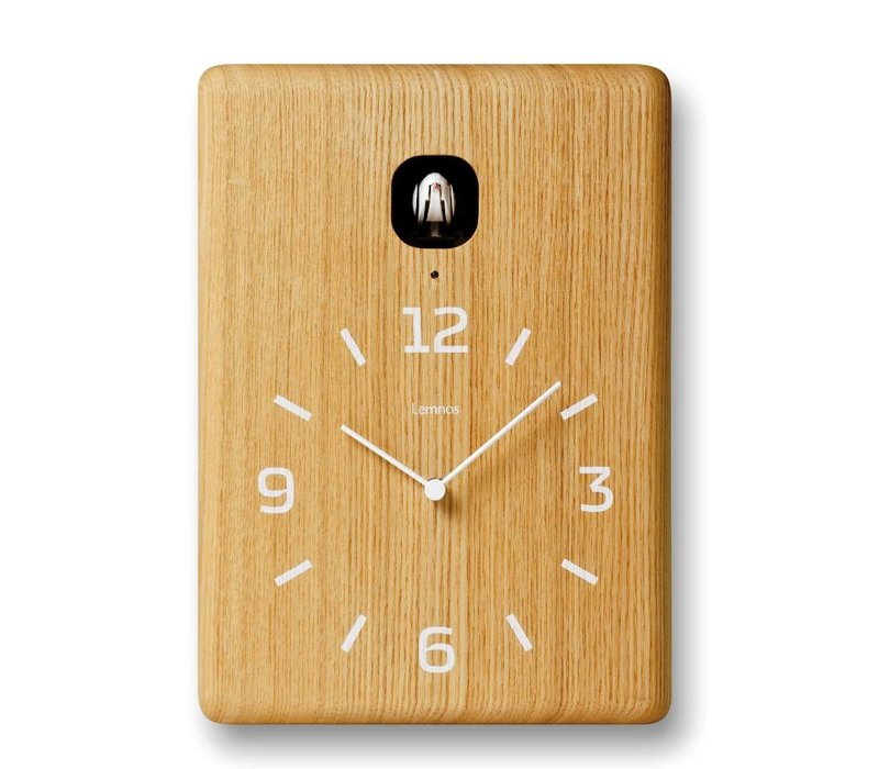 Moderne houten koekoeksklok 'Cucu'