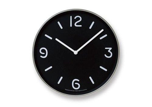 Lemnos moderne ronde klok 'Mono'