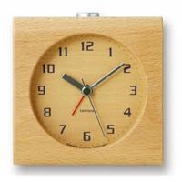 """Design Wecker """"Block"""" - aus einem Stück Holz gefertigt"""