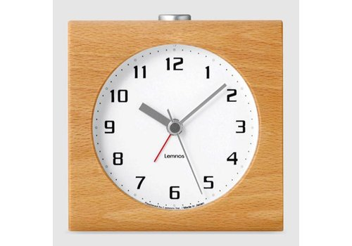 Lemnos design alarm clock 'Block'