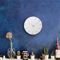 Round porcelain wall clock 'Kifuku'