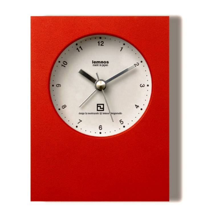 Lemnos Modern Design Alarm Clock Wilhelmina Designs