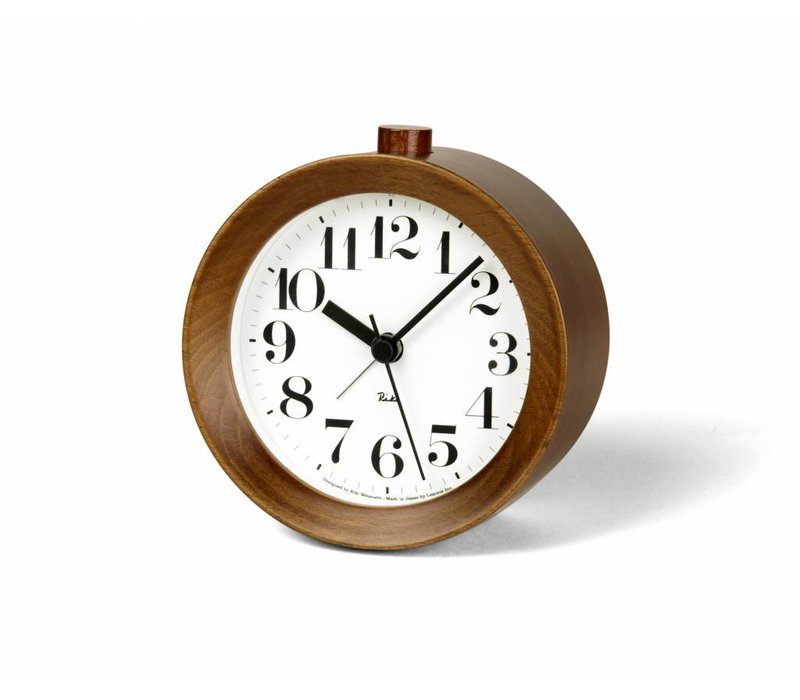 Classic RIKI Alarm Clock made from wood