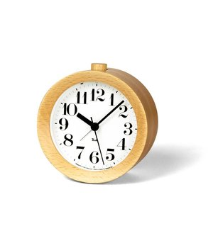 Lemnos Classic RIKI Alarm Clock made from wood