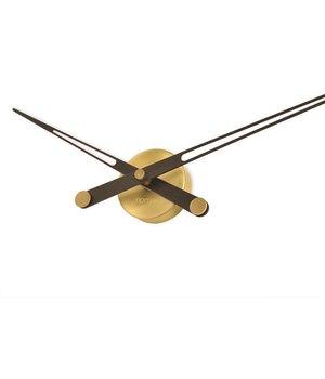Nomon houten klok alleen wijzers 'Axioma N - Gold'