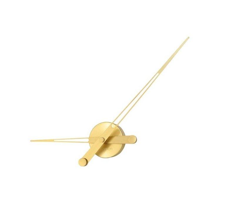 Axioma Gold Wanduhr Gold 60cm