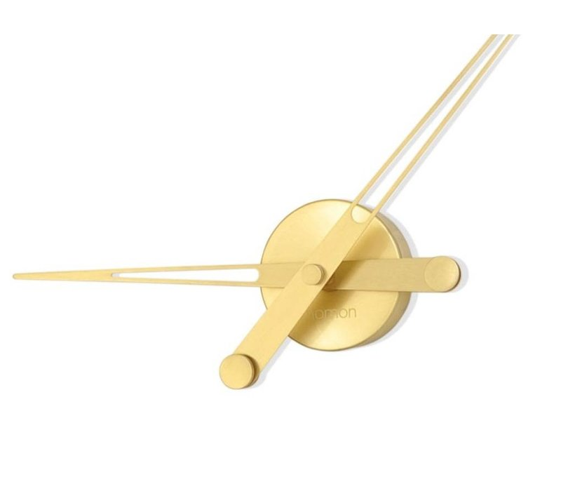 'Axioma Gold' golden design clock, 60cm