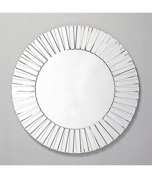 Deknudt Cheerful, round design mirror, 'Sunny'