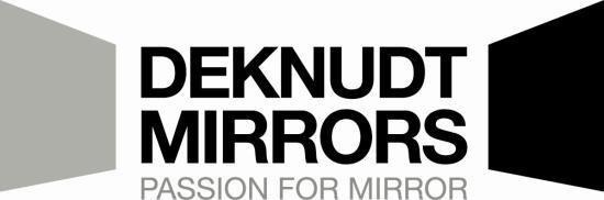 De productie van design spiegels bij Deknudt Mirror Works