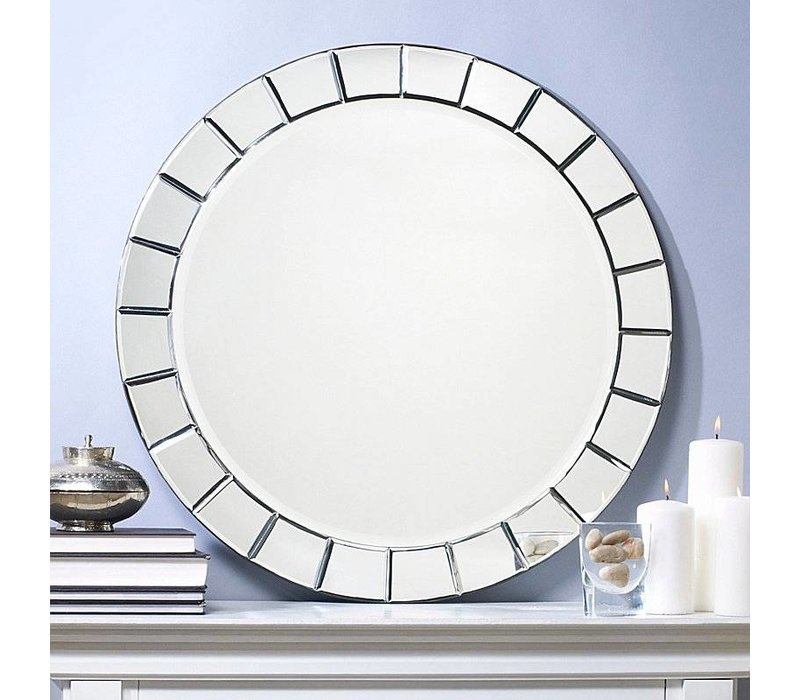 Round design Mirror 'Fiori'