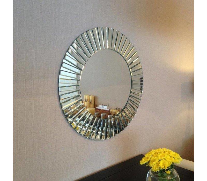 Runder Designer Spiegel 'Sunny' 80 cm