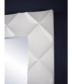 Deknudt Weißer Spiegel 'Crocio' 96 x 172 cm