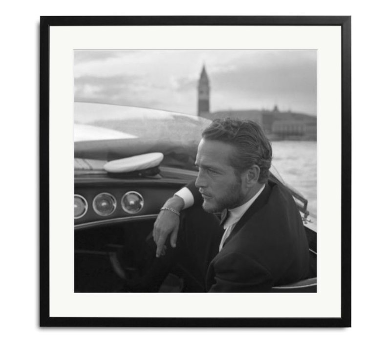 Paul Newman black and white picture
