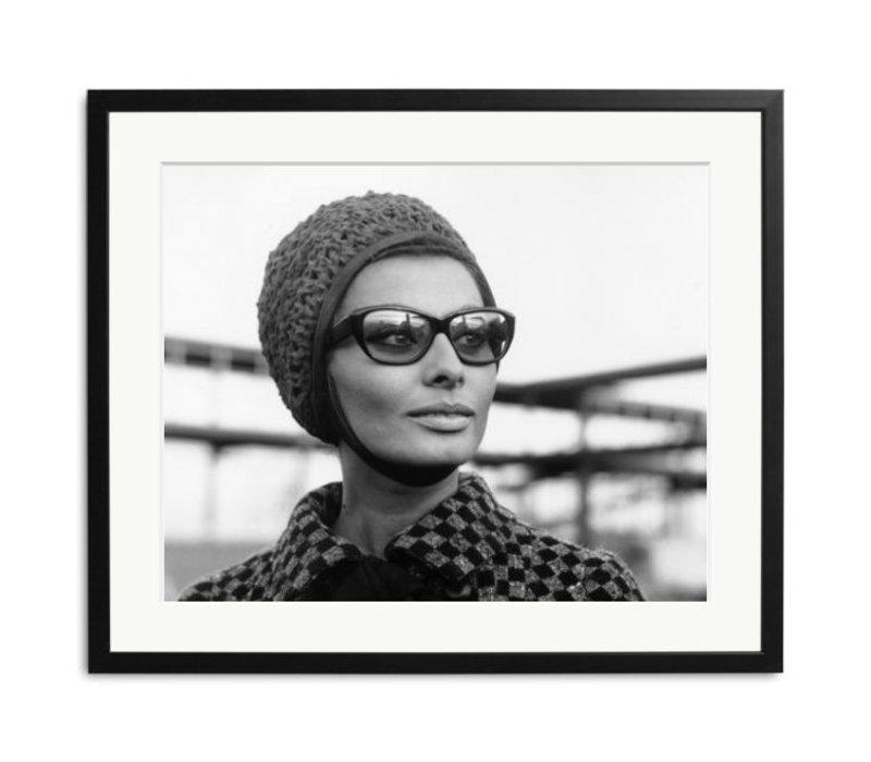 Sophia Loren framed photograph