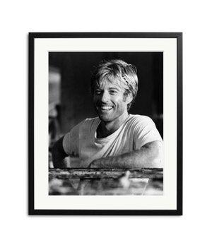 Redford Schwarz Weiß Foto eingerahmt