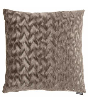 Claudi Throw Pillow Rachele Color Taupe