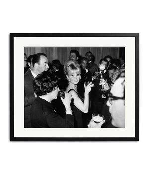 "Brigitte Bardot ""Toast of the Town"" framed picture"