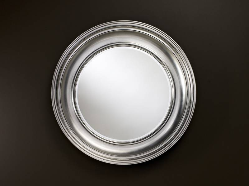 Beautiful Large Round Silver Mirror Part - 13: Add Your Review; U003e ...