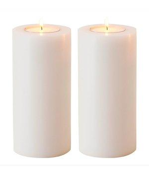 Eichholtz Künstliche Kerzen XL 2 Stück h21xb10
