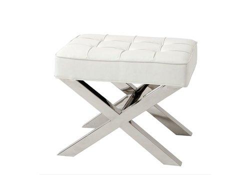Eichholtz Footstool white