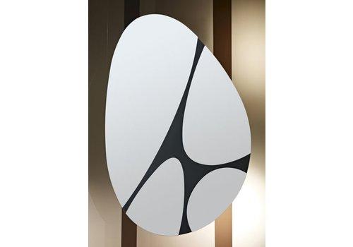 Spiegel Zwarte Lijst : Ronde en ovale spiegels met of zonder lijst bestellen wilhelmina