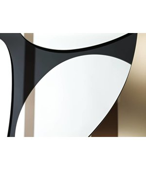 Deknudt Ovaler Spiegel 'Pebbles' 83 x 125 cm