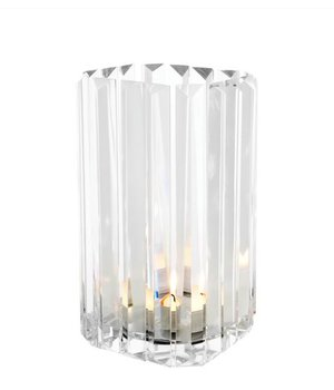 """Eichholtz glass candle holder """"Howell"""" Set of 2"""