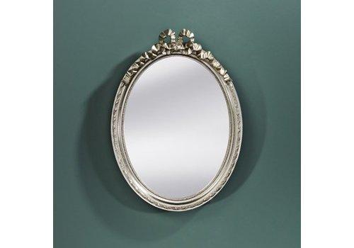 Deknudt Kleiner Spiegel oval 'Cosy' Silber