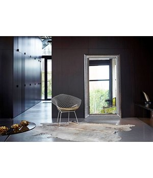 Deknudt large mirror 'Nick' in silver