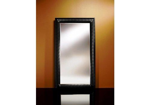 Deknudt grote spiegel 'Nick' zwart