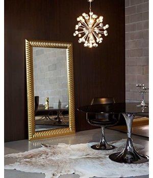 Deknudt 'Nick' großer Spiegel, groß von Format, elegant und stilvoll