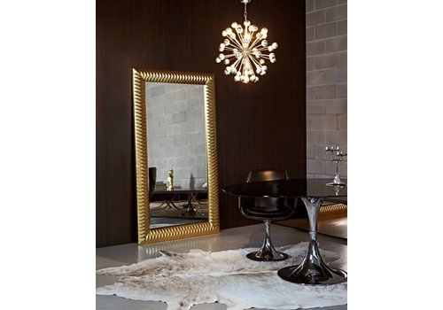 Deknudt large mirror in gold