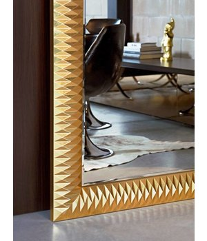 Deknudt large mirror 'Nick' in gold