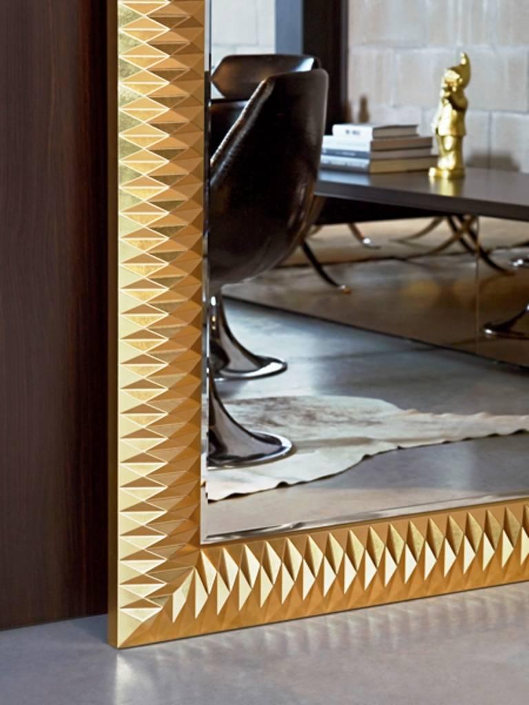 Deknudt 39 nick 39 grote spiegel groot van formaat elegant en stijlvol wilhelmina designs - Grote spiegel kleefstof ...