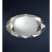 wandspiegel Precious met zilveren lijst
