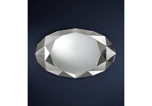 Deknudt wandspiegel - zilver 'Precious'
