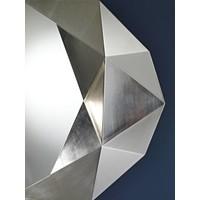 wall mirror 'Precious' in silver