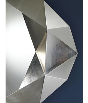 Deknudt wall mirror 'Precious' in silver